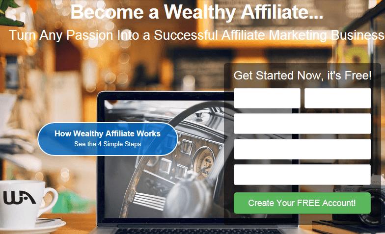 WA homepage screenshot