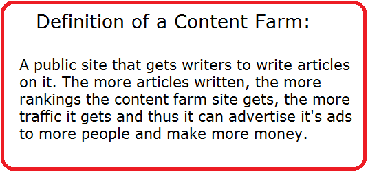 what is a content farm