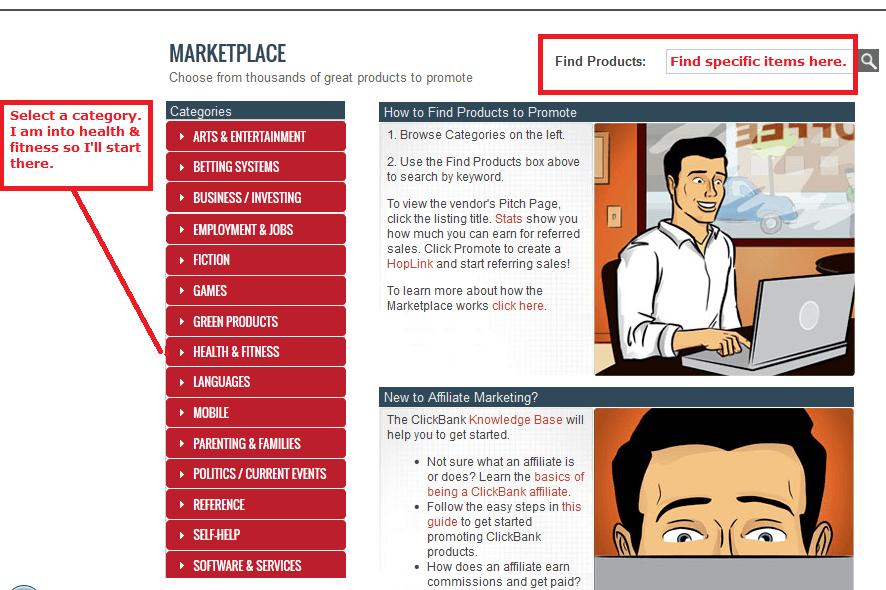 clickbank marketplace
