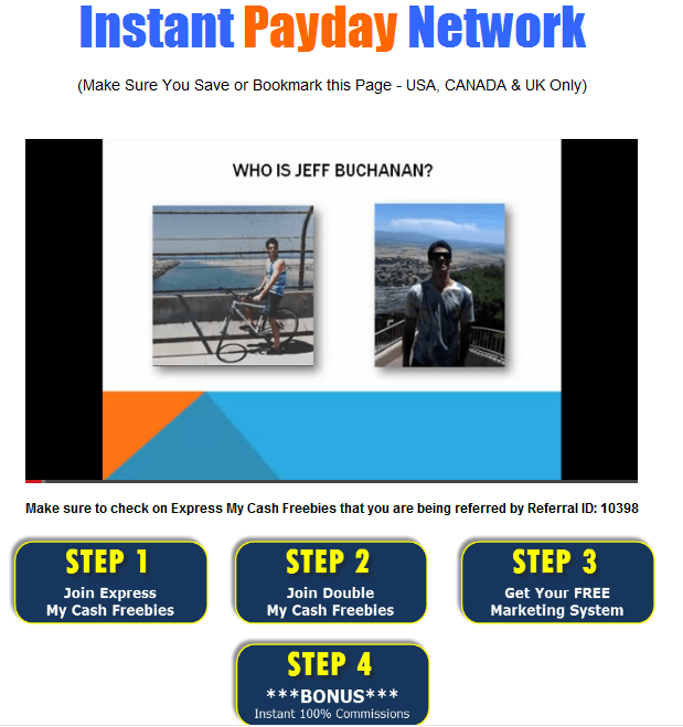 instant payday network review: what happens when you sign up