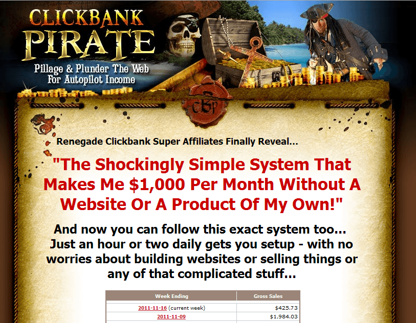 clickbank pirate