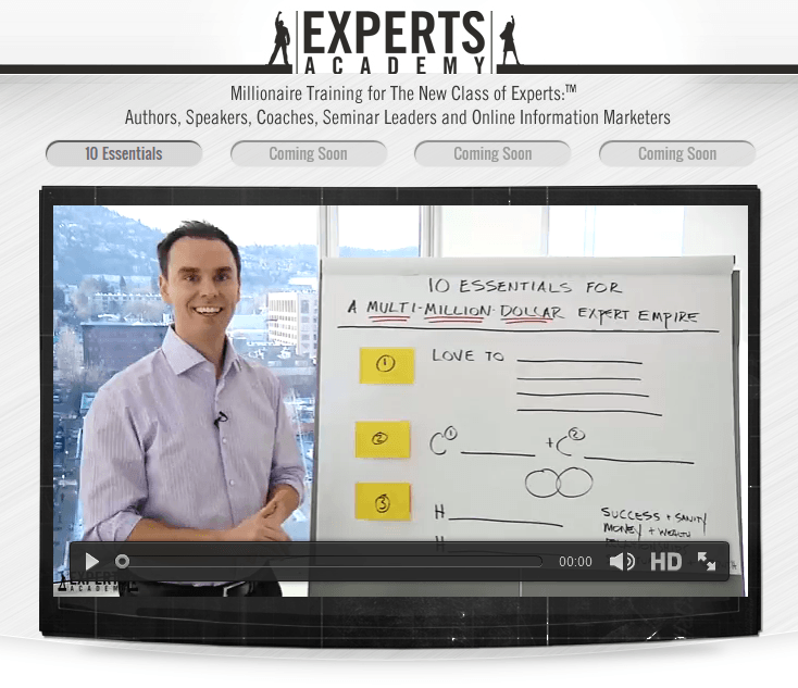 Experts academy review