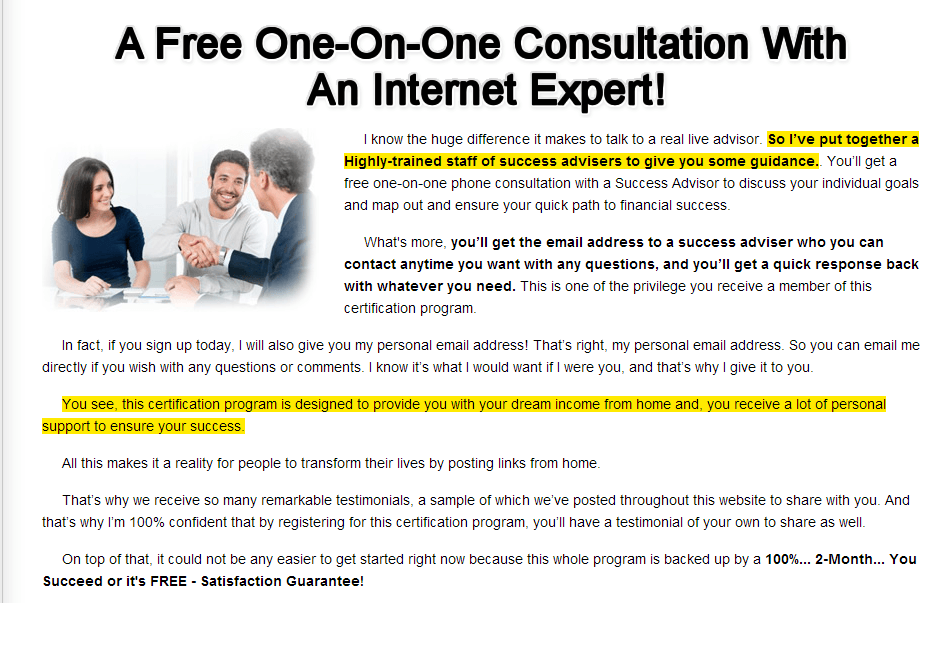 Work from home university consultation