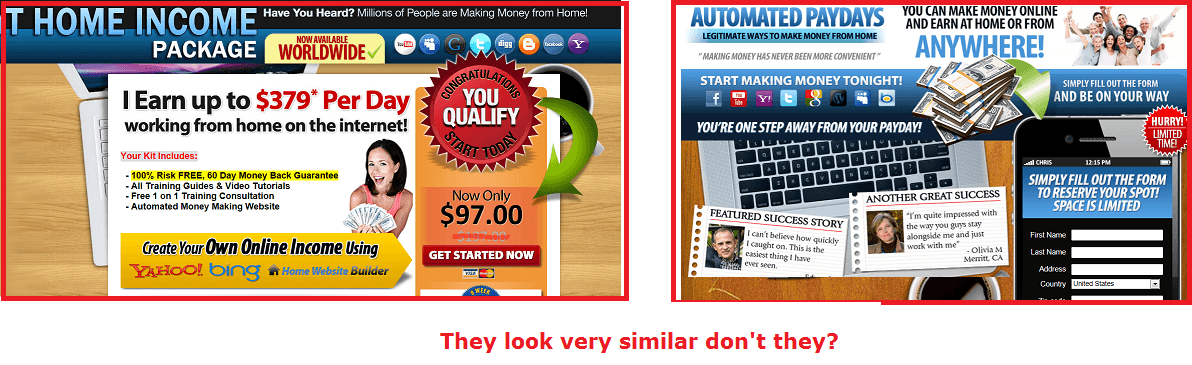 automated paydays at home income package