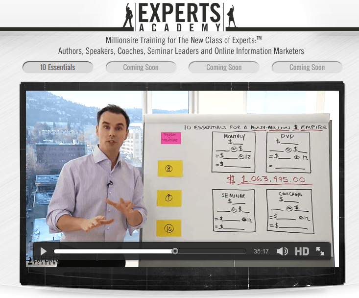 experts academy 2