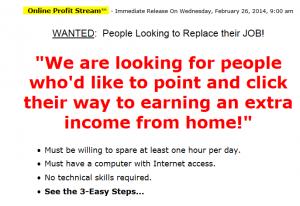 online profit stream