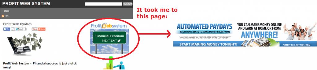 profit web system scam