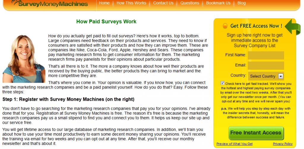 survey money machines review