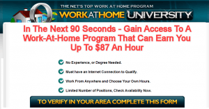 work from home university home