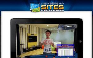 membership sites blueprint screenshot