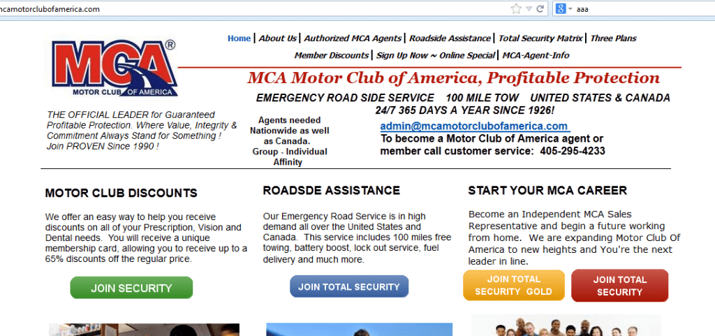 Is motor club of america mca one big scam what you need for Motor club company scam