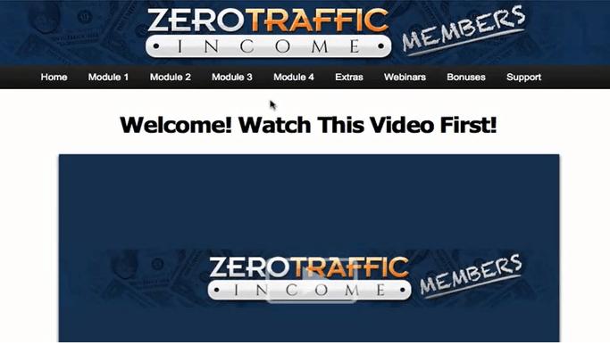 zero traffic income inside