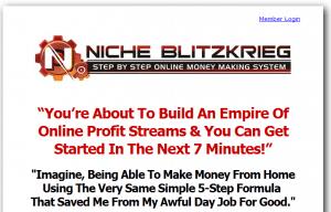 niche blitzkrieg homepage
