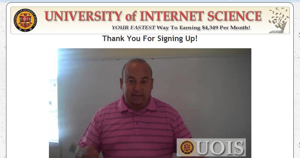 university of internet science