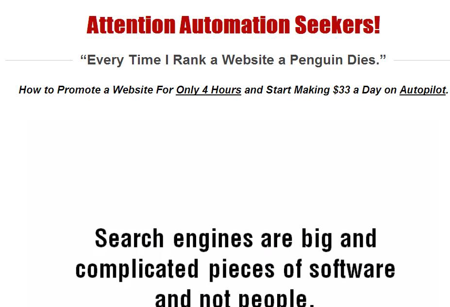 kontent machine homepage screenshot
