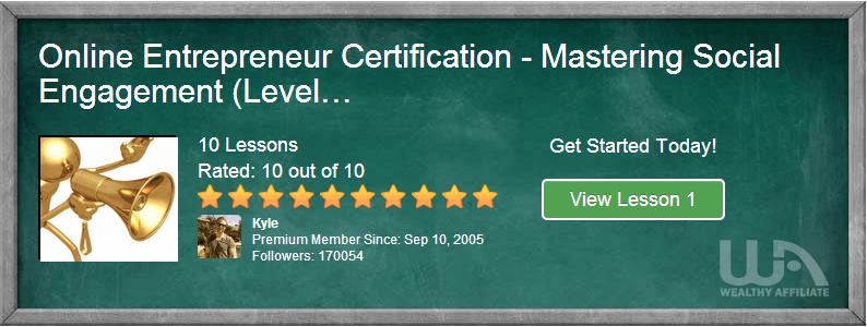 wa certification course level 4