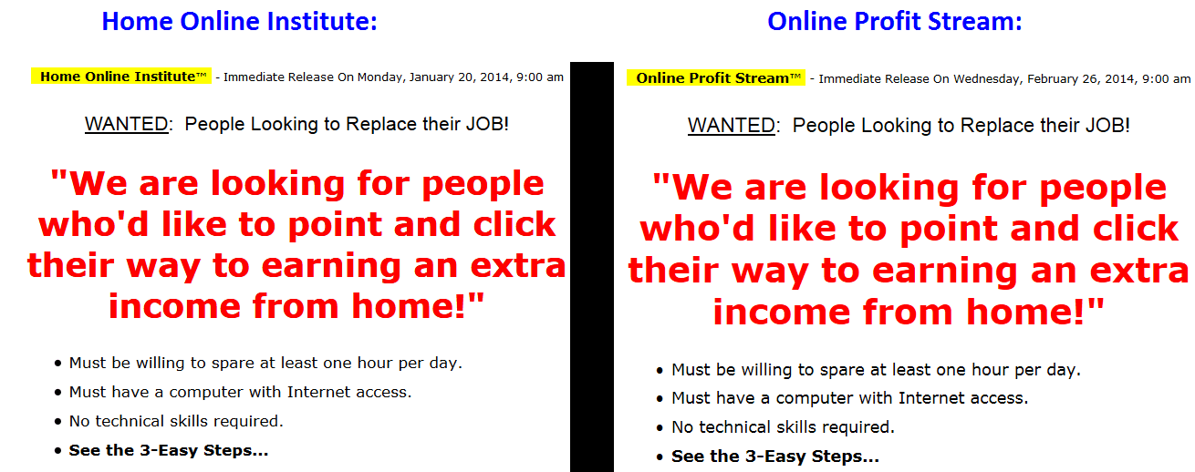 home online institute online profit stream