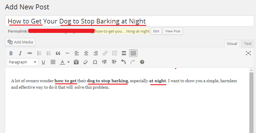 how to get dog to stop barking at night post