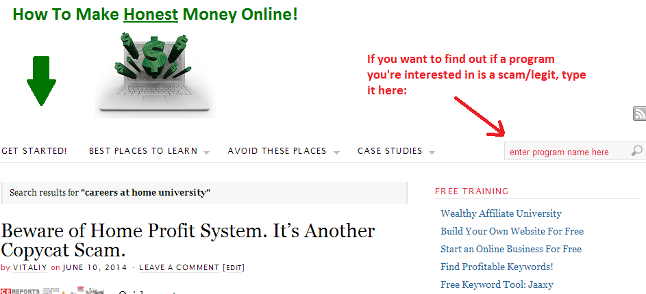 how to make honest money online search