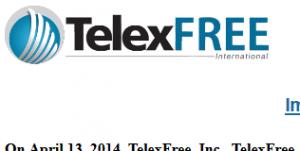 telexfree homepage screenshot