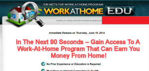 work at home edu