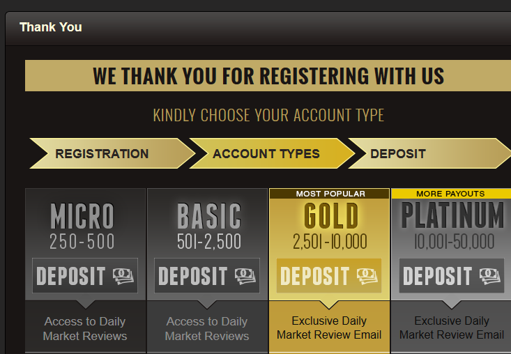 binary matrix pro after you sign up