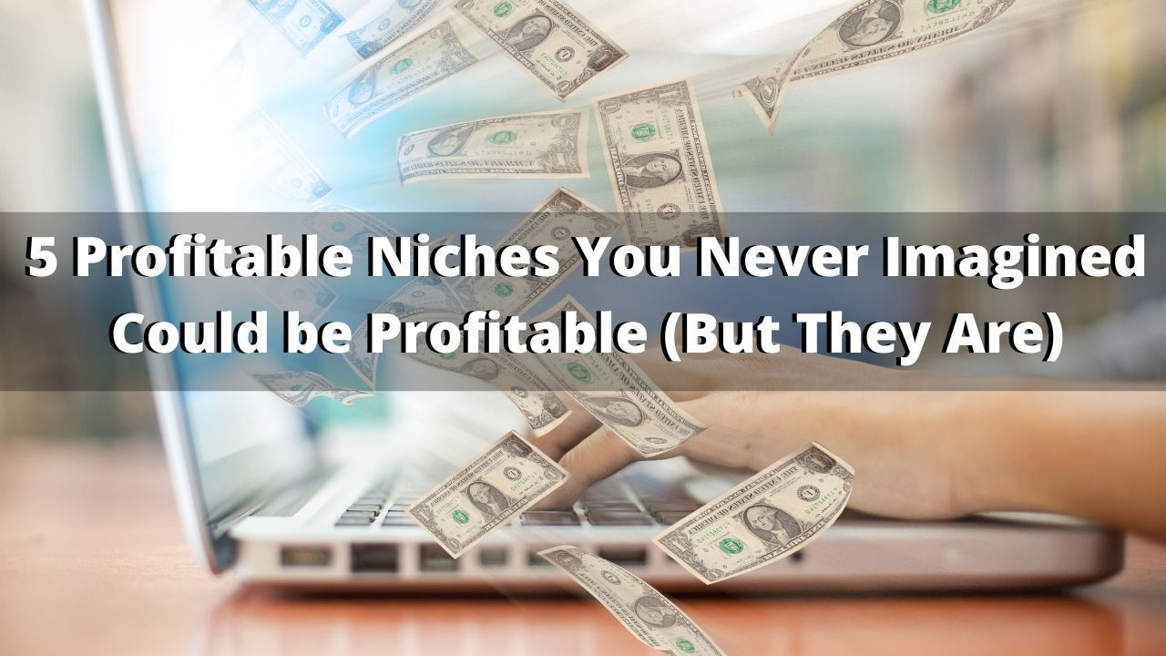 5 Profitable Niches You'd Never Guess Could Make Money
