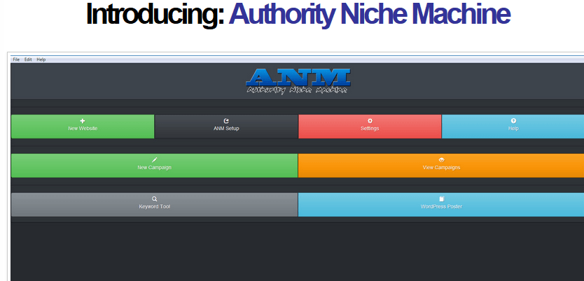 authoritynichemachinesoftware