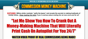 commission money machine reviiew