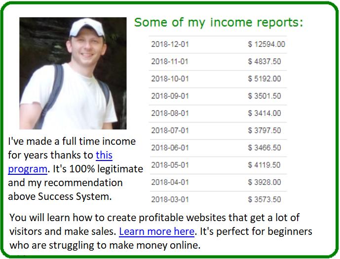 success system revealed alternative