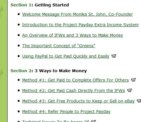 projectpaydaytraining