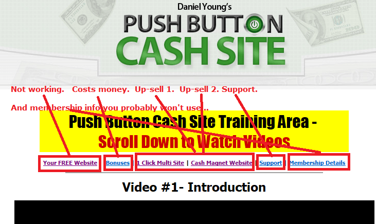 pushbuttoncashsitemenus