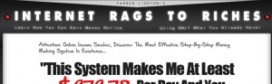 internet rags to riches review
