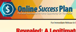 online success plan review