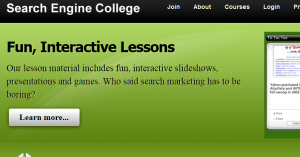 search engine college review