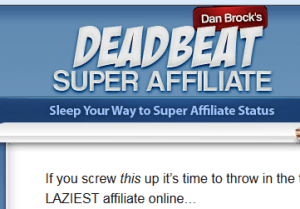 deadbeat super affiliate review