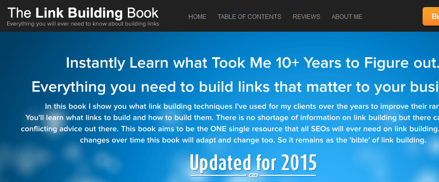 the link building book review