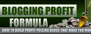 blogging profit formula review