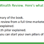 10 pillars of wealth review