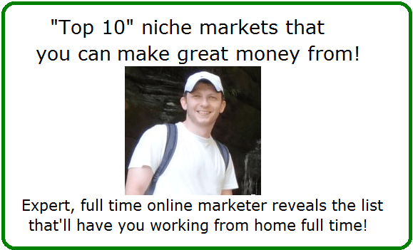 top 10 niche markets