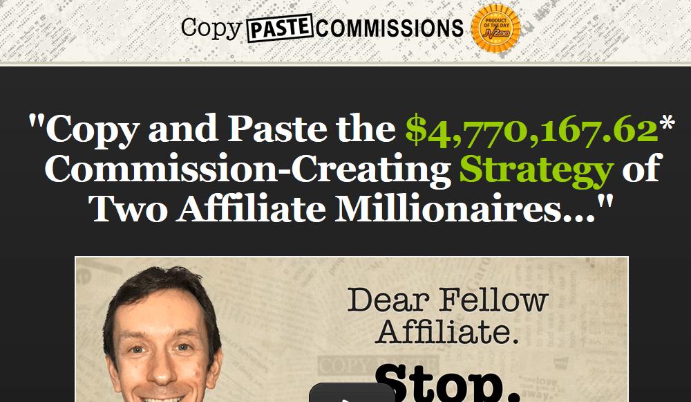 copy paste commission review