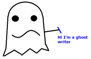 what is a ghost writer