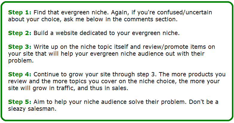 What is an Evergreen Niche? How to Find And Profit of Them. 11