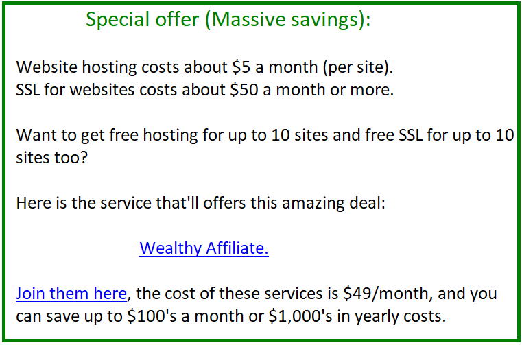 how to save on ssl