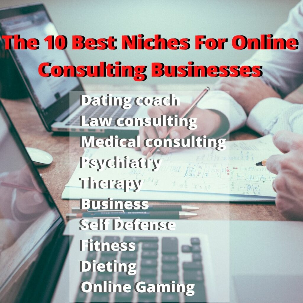 The 10 Best Niches For Online Consulting That Pay Big Money