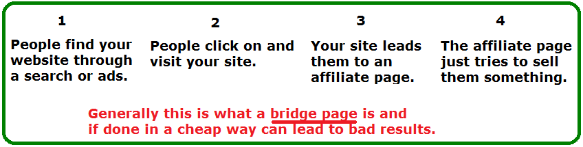 what is a bridge page
