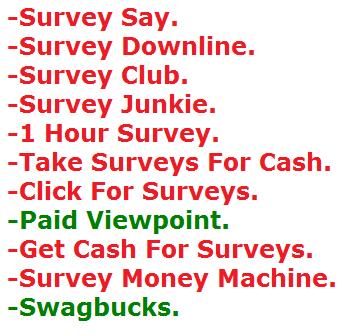 legit paid online survey sites