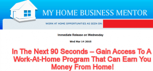my home business mentor review