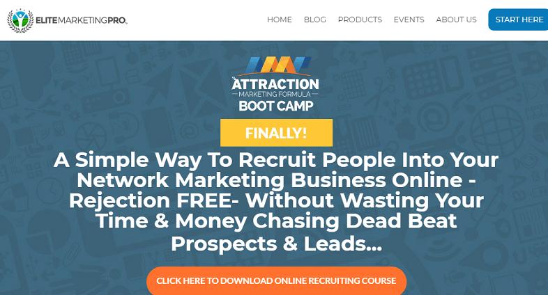elite marketing pro review screenshot