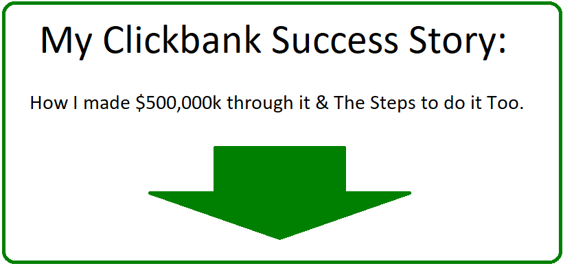 clickbank success stories
